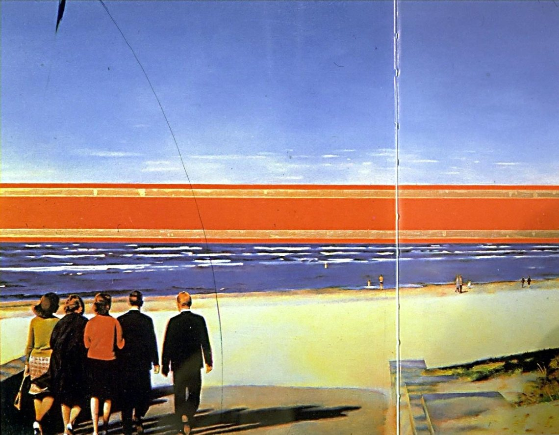 Erik Bulatov, Horizon, 1971-72