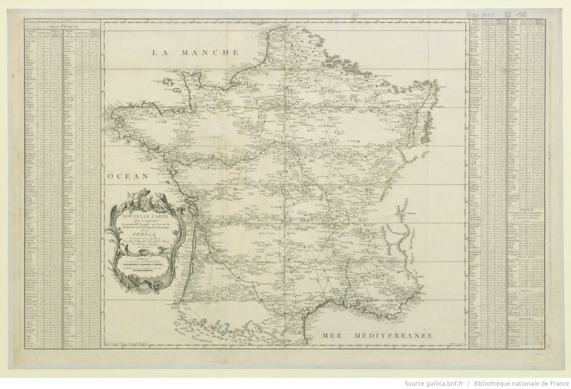 fig47_Cassini-1744_Geometrical description of France-triangles